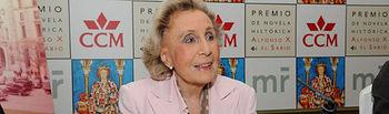 Mercedes Salisachs, ganadora del Premio Alfonso X El Sabio 2009