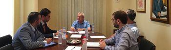 Reunion Cs con Colegio de Ingenieros de Caminos, Canales y Puertos