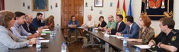 Reunión con representantes de UPA, ASAJA, Cooperativas Agroalimentarias de Castilla-La Mancha, COAG,
