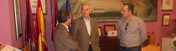 Antonio Martínez y Fermín Gómez conocen los proyectos más inmediatos del Instituto de Estudios Albacetenses