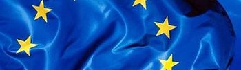 Bandera de la Unión Europea. (Foto archivo)