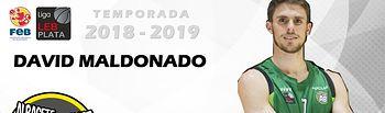 David Maldonado renueva con en el Arcos Albacete Basket.