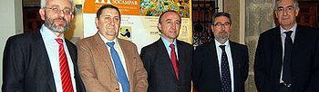 El consejero de Salud y Bienestar Social, Fernando Lamata, inauguró anoche en Toledo el Congreso de la Sociedad Castellano-Manchega de Patología Respiratoria.