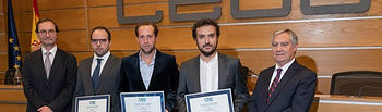 Premio UNE - La entrega del Premio tuvo lugar en la sede de la CEOE  © Gabinete de Comunicación UCLM