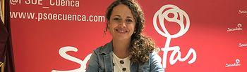 Gracia Canales, número 2 al Congreso por el PSOE de Cuenca.