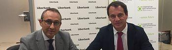 Firma acuerdo entre Cooperativas Agro-alimentarias de Castilla-La Mancha y Liberbank.