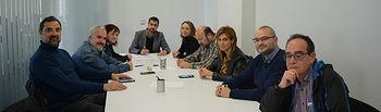 Firma del convenio colectivo provincial de oficinas y despachos de Albacete.