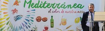 Fernando Burgaz: Las cualidades de la Dieta Mediterránea son una excelente tarjeta de entrada en cualquier mercado internacional. Foto: Ministerio de Agricultura, Alimentación y Medio Ambiente