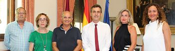 La Subdelegación del Gobierno mantiene un encuentro con la directiva de la FAVA.