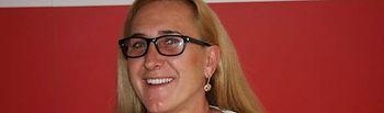 Carmen Mínguez, secretaria de Educación del PSOE de Alcázar.