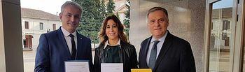 Los parlamentarios del PP de Ciudad Real han recogido sus actas en la Audiencia Provincial.