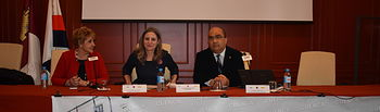 La directora del Instituto de la Mujer, Araceli Martínez, ha participado en Cuenca en las jornadas 'Violencia de género. Nueva problemática. Nuevas respuestas legales'