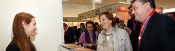 Maria Luisa Soriano inaugura feria alimentación Albacete. Foto: JCCM.