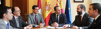 """Gregorio destaca """"la proyección turística y económica de la Semana Santa de Albacete para la ciudad y para Castilla-La Mancha"""""""