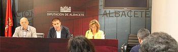 La Diputación de Albacete, centro geográfico de debate de los derechos laborales de los periodistas europeos