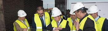 Las obras de la primera fase del Hospital de Albacete estarán finalizadas entre el 15 y el 30 de julio
