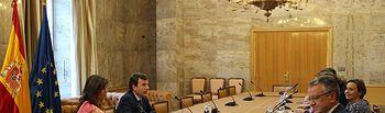 El Ministerio de Agricultura, Alimentación y Medio Ambiente analiza con la Consejería de Infraestructuras, Ordenación del Territorio y Medio Ambiente de Asturias y el Ayuntamiento de Gijón la situación de la EDAR Este. Foto: Ministerio de Agricultura, Alimentación y Medio Ambiente