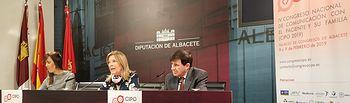 Presentación de la IV edición del Congreso Nacional de Comunicación con el Paciente Oncológico (CIPO) que tendrá lugar los días 8 y 9 en Albacete.