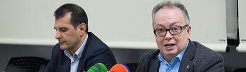 Francisco Quiles y Ángel Tejada en rueda de prensa.