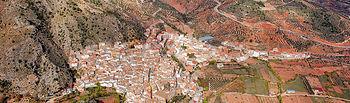 Vista aérea de Bogarra