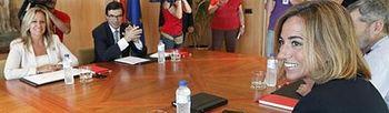 Reunión Libia. Foto: EFE