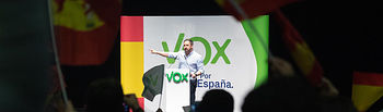 Acto de Santiago Abascal en Albacete