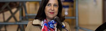 La Ministra de Defensa, Margarita Robles, visita la Base Aérea de Los Llanos y Maestranza Aérea de Albacete