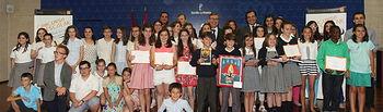 Marín. Entrega de diplomas concurso escolar ¿Qué es un Rey para ti?. Foto: JCCM.