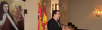 El viceconsejero de Medio Ambiente en la inauguración del Museo del V Centenario de Santa Teresa de Jesús de Pastrana