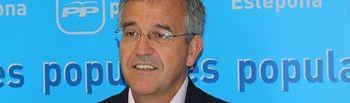 José María García Urbano, vicepresidente de la Federación Española de Municipios y Provincias y alcalde de Estepona.