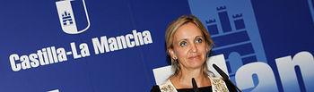 Carmen Casero informa sobre el Plan Prepara en Castilla La Mancha. Foto: JCCM.