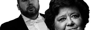 Luis Santana y Cristina Almeida.