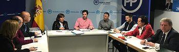 Reunión de la Comisión de Desarrollo Rural y Medio Ambiente del PP.
