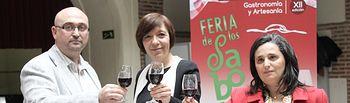 Presentación en la sede de la FEMP en Madrid la Feria de los Sabores de la tierra del Quijote que se celebrará en Alcázar de san Juan entre el 26 y el 29 de abril
