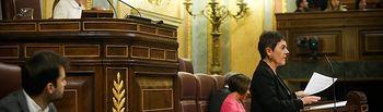 Intervención de la diputada de Euskal Herría Bildu Mertxe Aizpurúa. Foto: @Congreso_Es