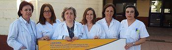 Enfermeras de la Unidad de Media Estancia de Salud Mental de Cuenca, premiadas por un proyecto sobre calidad de vida y salud física. Foto: JCCM.
