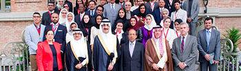 Participantes en la inauguración del Foro, que tuvo lugar el lunes en Casa Árabe (Madrid).