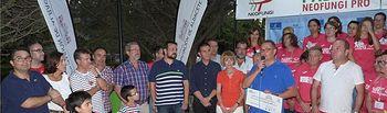 Cabañero felicita a la asociación regional de enfermedades neuromusculares por el éxito del torneo de padel