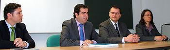 Daniel Andaluz, José Antonio Guerrero, Gonzalo Ruiz y Susana López.
