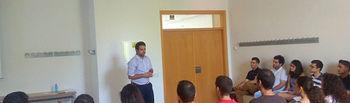 Un momento de la sesión de formación, impartida por Marcos García Cuadra