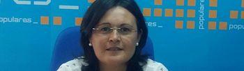 Amalia Gutierrez, portavoz del Grupo Popular de Villarrobledo