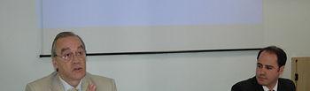 Eliseo Cuadrao durante su intervención