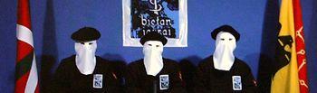 Miembros de la bande terrorista ETA