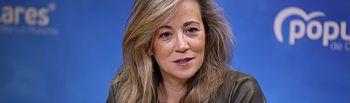 Lola Merino, portavoz del Grupo Parlamentario Popular en las Cortes de Castilla-La Mancha.