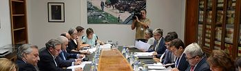 Carlos Cabanas pone en valor los avances conseguidos gracias al Acuerdo para la Estabilidad y Sostenibilidad del sector lácteo. Foto: Ministerio de Agricultura, Alimentación y Medio Ambiente
