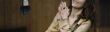La actriz, realizadora y cantante francesa, Agnès Jaoui. Foto: Patrick Swirc/Ellas Crean.