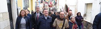 El presidente de Castilla-La Mancha, Emiliano García-Page, visita Oropesa con motivo de la celebración de la vigésima edición de sus Jornadas Medievales, declaradas fiestas de interés turístico regional. (Fotos: José Ramón Márquez // JCCM)