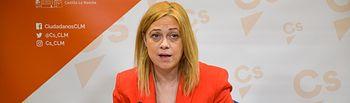 Carmen Picazo, portavoz de Ciudadanos en Castilla-La Mancha.