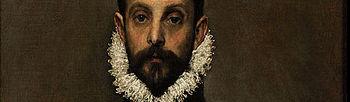 El caballero de la mano en el pecho (1580) El Greco. Museo del Prado.