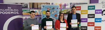 Presentación confluencia de Podemos, 'Se puede Villarrobledo' y Equo
